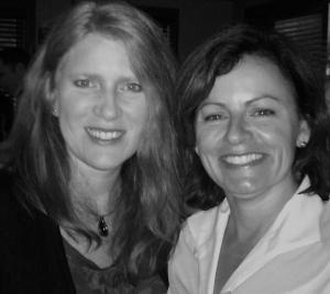 Me & Liz  Wood 2011